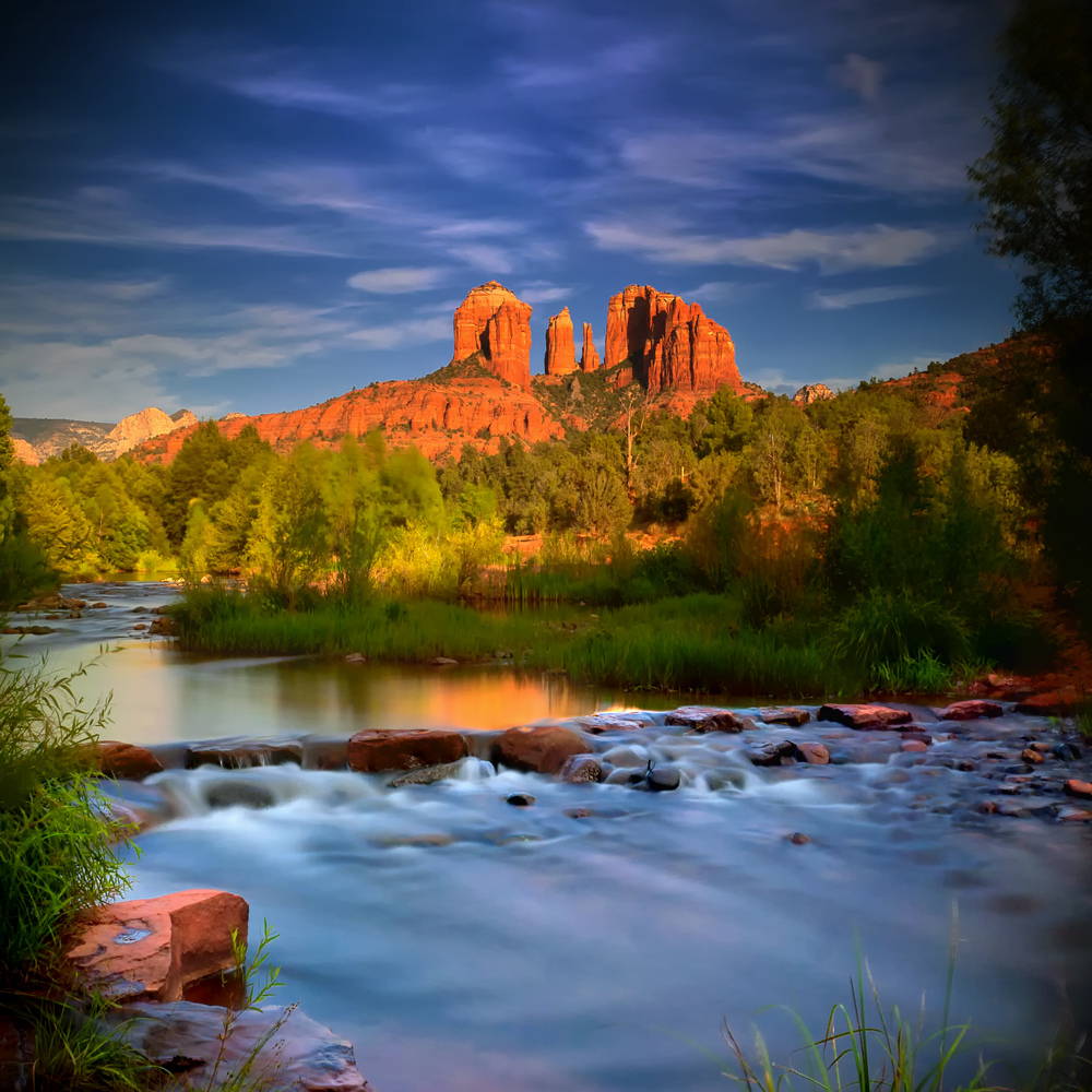 Cathedral rock ...