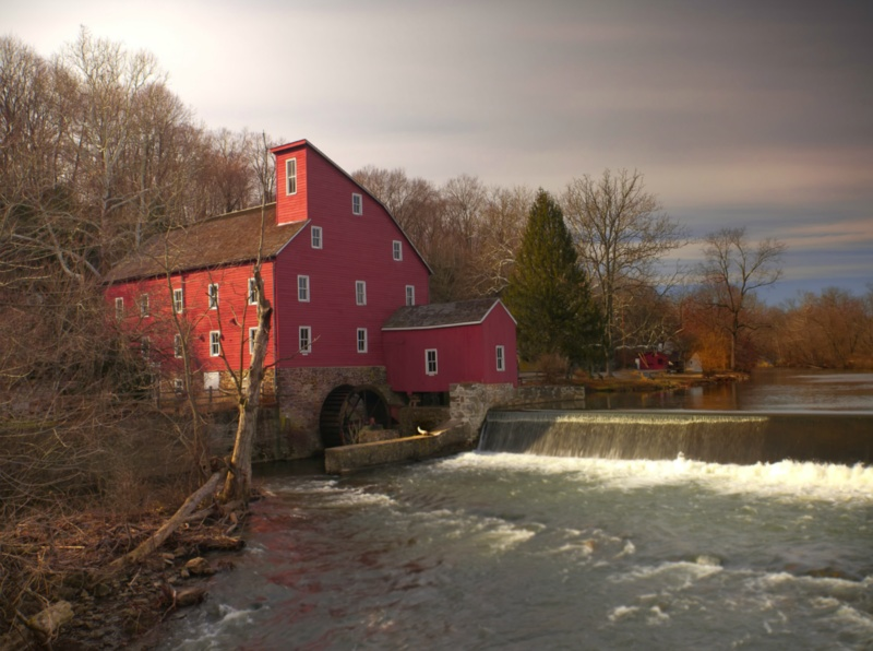 The red mill house ...